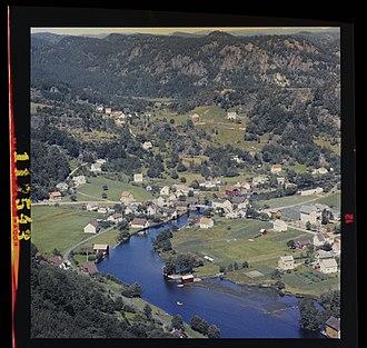 Kvinesdal - View of Kvinesdal (1963)