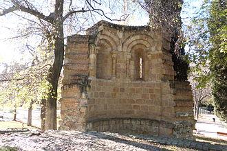 Ermita de San Pelayo y San Isidoro - Ruins of the apse