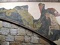 147 Santa Maria de Lluçà, Sant Jordi i el drac.jpg