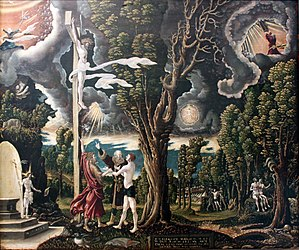 Georg Lemberger - Fall and Redemption (1535)