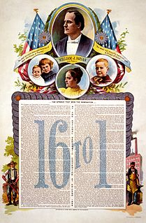 William Jennings Bryan 1896 presidential campaign Campaign of William Jennings Bryan for the election to President of the United States in 1896