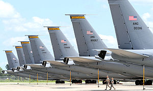 174th Air Refueling Squadron - 174th Air Refueling Squadron - KC-135R Stratotankers at Sioux City AGB IA