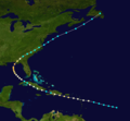 1851 Atlantic hurricane 4 track.png