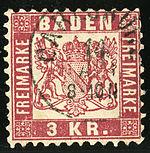 150px-1868_Baden_3kr_Carlsruhe_Mi24 dans Perversité