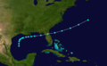 1877 Atlantic tropical storm 7 track.png