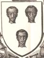 1882 Armes de Bonnechose - Henri Cardinal de Rouen.png