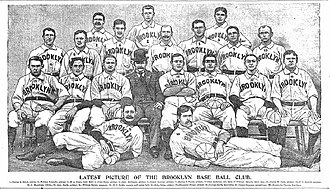 1897 Brooklyn Bridegrooms season - The 1897 Brooklyn Bridegrooms
