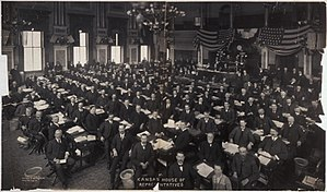 Kansas House of Representatives - The Kansas House of Representatives in 1905