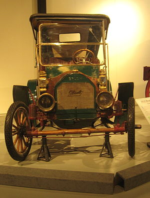 Brush Motor Car Company - 1912 Brush Runabout, owned by a resident of Saskatoon, in a local museum.