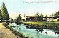 1915 - Nook at Dorney Park along Cedar Creek.jpg