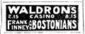 1919 Waldrons BostonGlobe Nov26.png
