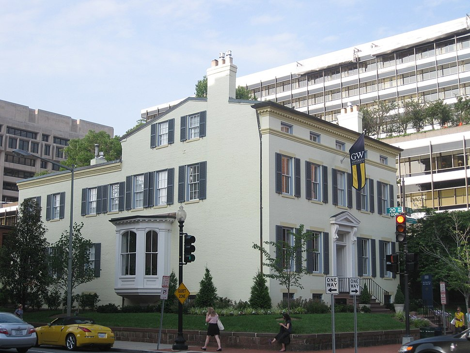 1925 F Street President%27s Residence GWU