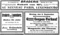 1929-08-31 Luxemburger Wort annonces Braderie.png