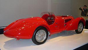 Carrozzeria Touring Superleggera - 1938 Alfa Romeo 8C 2900 Mille Miglia from the Ralph Lauren collection
