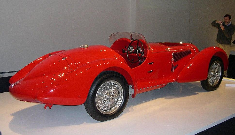 1938 Alfa Romeo 8C 2900 Mille Miglia rear