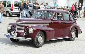 Opel - Opel Kapitän (1938-1940)
