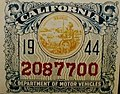 1944 California license plate window decal.jpg