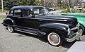 1946 Hudson Super Eight sedan in black, front right.jpg