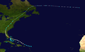 1949 Atlantic hurricane 2 track.png