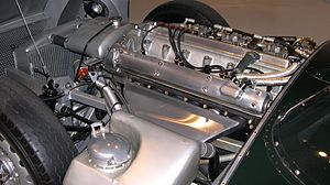 Jaguar D-Type - Double overhead cam 3.4 litre straight six cylinder XK6 engine