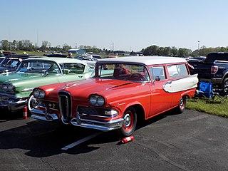 Edsel Roundup Motor vehicle