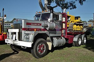 Diamond Reo Trucks - A 1970 Diamond REO truck in Penrith, New South Wales.