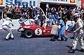1971 Targa Florio - Vaccarella and Hezemans' Alfa Romeo 33.3, pit stop.jpg