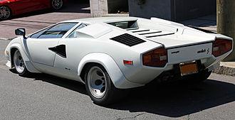 Lamborghini Countach - Countach LP400 S (rear)