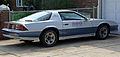 1982 Chevrolet Camaro Z28 Indy 500 Pace Car replica, rear right side.jpg