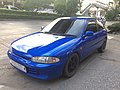 1992-1993 Mitsubishi Colt (CAO) GLX Hatchback (29-06-2018) 01.jpg