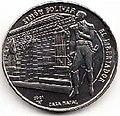 1 песо. Куба. 2001. 175 лет Освобождению - Место рождения Симона Боливара.jpg
