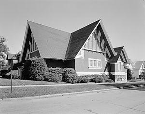 First Church of Christ, Scientist (Marshalltown, Iowa) - Image: 1st Ch Chr Sci Marshalltown IA 068328pr