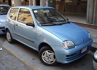 Fiat Seicento - Image: 2004 Fiat Seicento