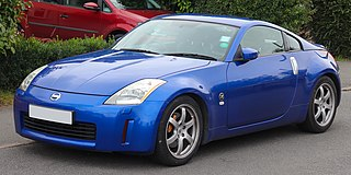 Nissan 350Z Sports car manufactured by Japanese automobile manufacturer Nissan as a successor to the 300ZX from 2003–2009