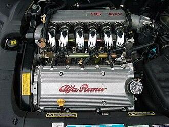 Alfa Romeo V6 engine - Alfa Romeo 3.0 V6 24V