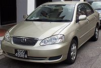 2006 Corolla Altis (Singapore)