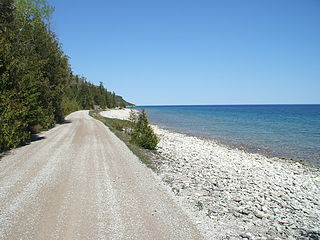 Georgian Bay large bay of Lake Huron, Canada