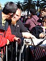 2008 Olympic Torch Relay in SF - Justin Herman Plaza 84.JPG