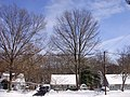 2009-12-20 12 00 00 A house along Terrace Boulevard after the North American blizzard of 2009 in Ewing Township, Mercer County, New Jersey.jpg