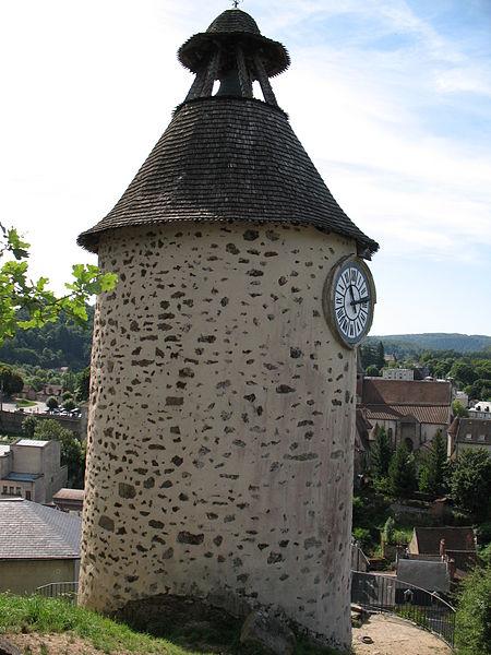 La Tour de l'Horloge, Abusson