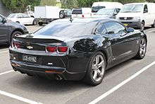 2010 Chevrolet Camaro 1ls >> Chevrolet Camaro Fifth Generation Wikipedia
