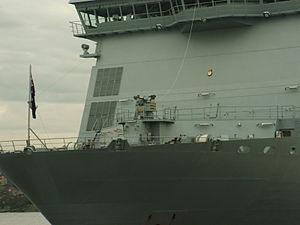 HMNZS Canterbury (L421) - Image: 2009 SH Fleet Entry 074