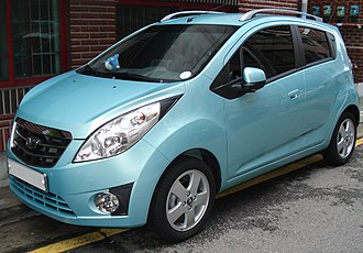 Chevrolet Spark - Daewoo Matiz Creative (South Korea)