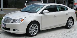 2010 Buick LaCrosse CXS photographed in Clarks...