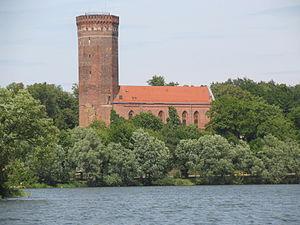 Człuchów - Człuchów Castle