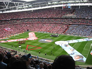 Stoke City F.C. - Stoke fans at the 2011 FA Cup Final
