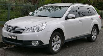 Subaru Outback - Image: 2011 Subaru Outback (BR9 MY11) 2.5i station wagon (2015 07 14) 01