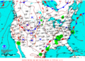 2012-07-12 Surface Weather Map NOAA.png