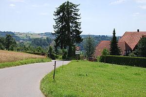 Wohlen bei Bern - Half-timbered houses in Salvisberg hamlet