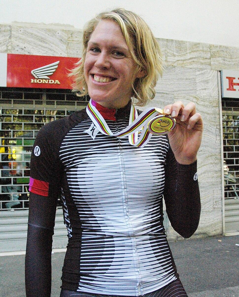 2013 UCI Road World Championships, women%27s TTT, Ellen van Dijk